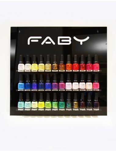 FABY wall display voor 36 kleuren (leeg)