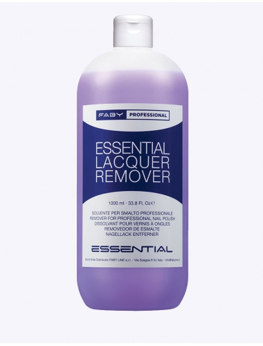 FABY Essential Lacquer Remover - Nagellak- en gellakremover (1L)