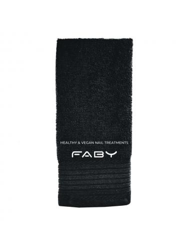 Gastendoek FABY zwart (30 x 50 cm)