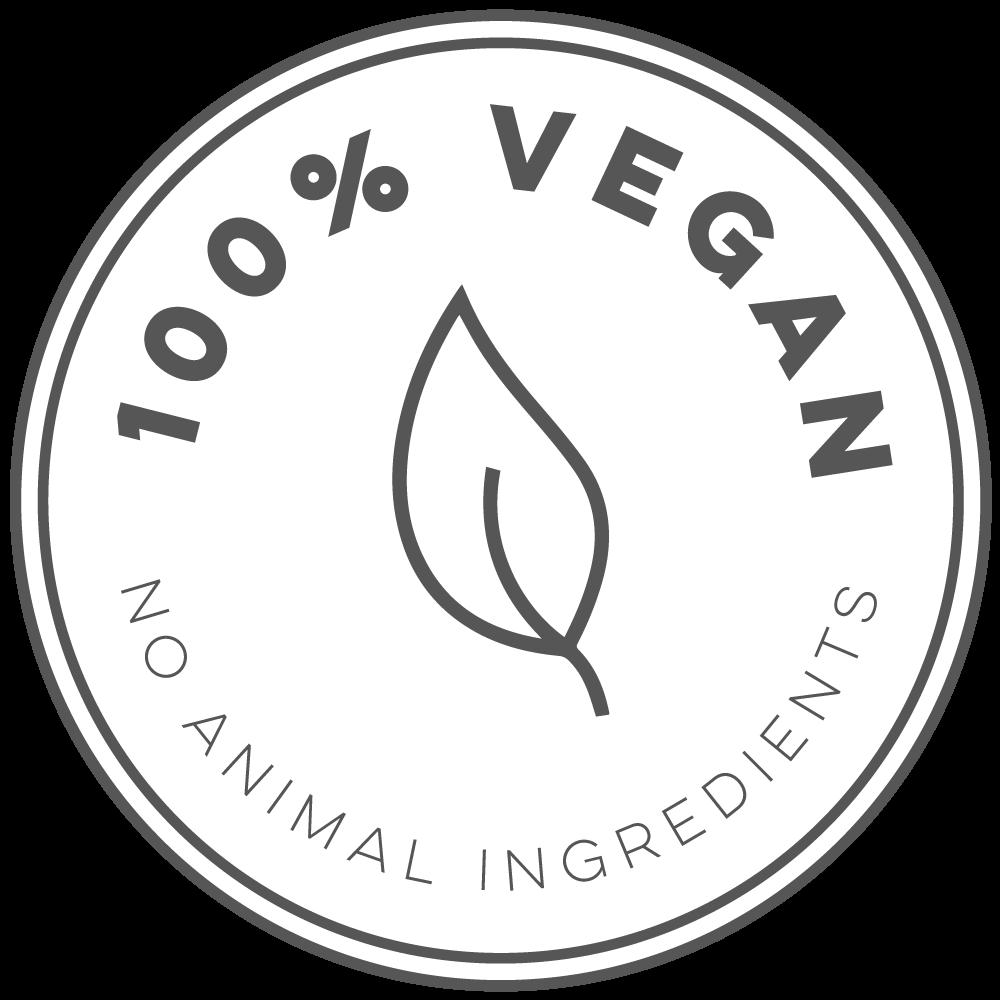 Geen dierlijke ingrediënten
